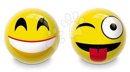 Obrázková lopta Emotic Mondo gumová 23 cm