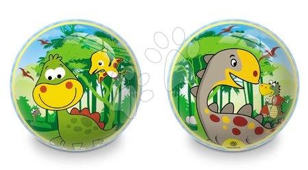 Rozprávková lopta Dinosaur Mondo gumová 23 cm