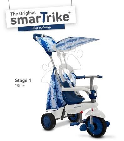 Trojkolky smarTrike - Trojkolka Spirit Blue 4v1 smarTrike modrá od 10 mes