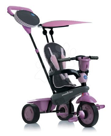 Trojkolka Spirit Pink 4v1 Touch Steering smarTrike ružová od 10 mes