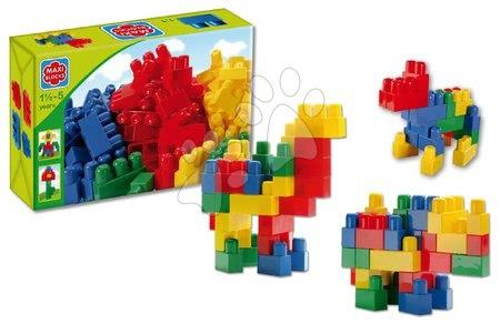 Dohány építőkockák - Kockák Maxi Blocks Dohány dobozban 34 darabos 18 hó-tól