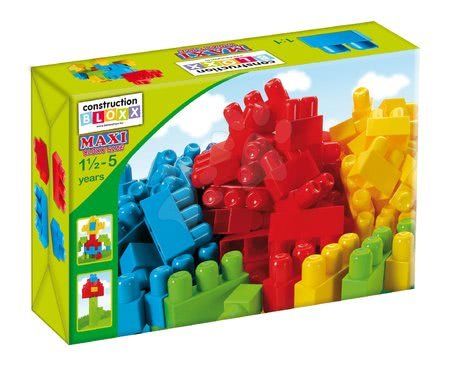 Dohány építőkockák - Kockák Maxi Blocks Dohány dobozban 34 darabos 18 hó-tól_1