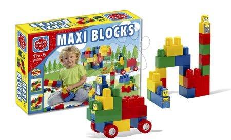Dohány építőkockák - Játékkockák Maxi Blocks Dohány kartoncsomagolásban 56 darabos 18 hó-tól
