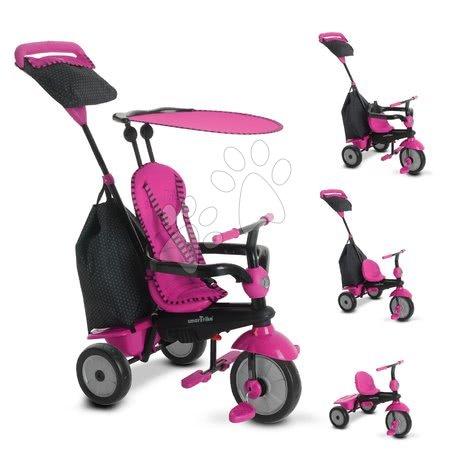 smarTrike - Trojkolka Glow 4v1 Touch Steering Black&Pink smarTrike ružovo-čierna od 10 mes_1