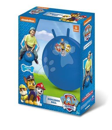 Dětská skákadla a hopsadla - Míč na skákání s oušky Kangaroo Paw Patrol Mondo 50 cm modrý_1