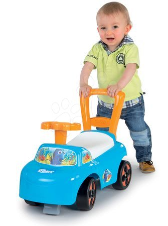 Finding Dory  - Odrážedlo a chodítko Auto 2v1 Hledá se Dory Smoby modro-oranžové od 10 měsíců_1