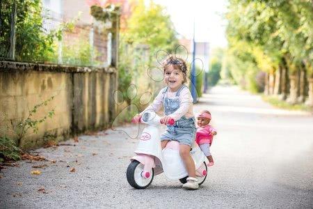 - Szett házikó Jóbarátok Smoby konyhácskával és scooter bébitaxi Corolle játékbabával a babaülésben_1