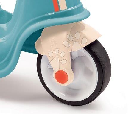 Guralice za djecu od 18 mjeseci - Guralica motor s prednjim svjetlom Scooter Blue Smoby s gumiranim kotačima plavo-siva od 18 mjes_1