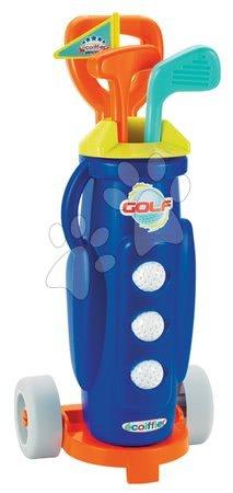 Kültéri játékok - Golf kocsi Écoiffier kiegészítőkkel kék