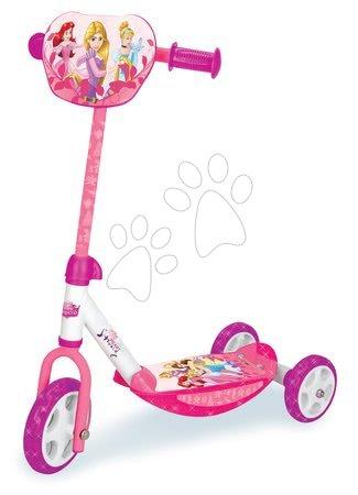Princese - Romobil na tri kotača Disney Princeze Smoby s prilagodljivom ručkom od 2.5 godine
