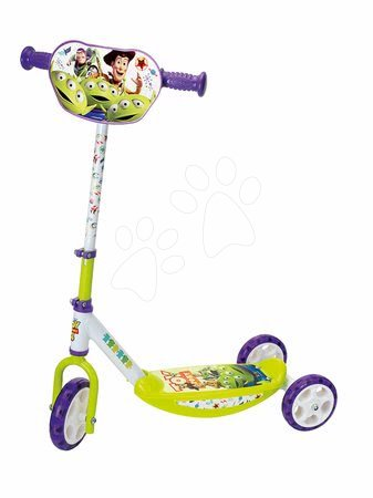 Toy Story - Trojkolesová kolobežka Toy Story Disney Smoby s výškovo nastaviteľnou rúčkou, protišmyková