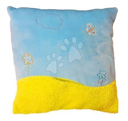 Plišaste blazine - Blazina Ilanit modra 35*35 cm