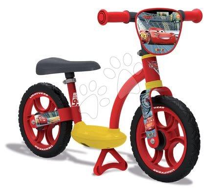 Odrážedla od 18 měsíců - Balanční odrážedlo Auta 2 Learning Bike Comfort Smoby s nastavitelnou výškou sedáku od 24 měsíců