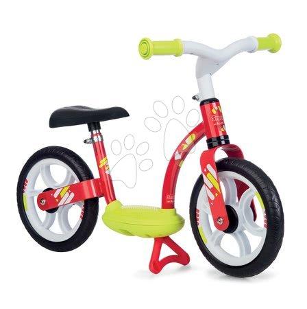 Guralice za djecu od 18 mjeseci - Balansna guralica Balance Bike Comfort Red Smoby s metalnom konstrukcijom i podesivom visinom sjedala od 24 mjeseca