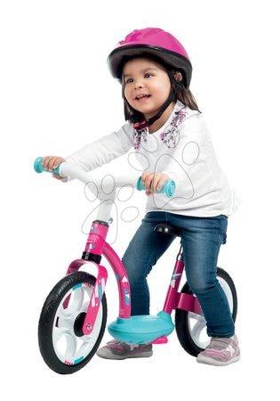 Guralice za djecu od 18 mjeseci - Balansna guralica Balance Bike Comfort Pink Smoby s metalnom konstrukcijom i podesivom visinom sjedala od 24 mjeseca_1