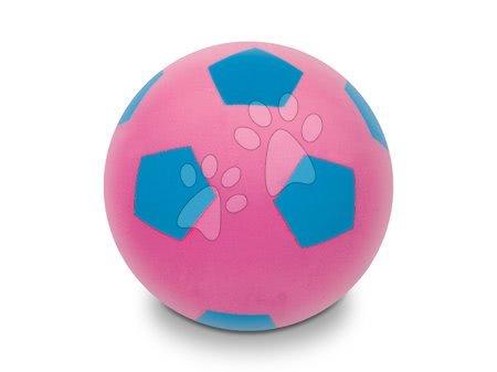 Pěnové míče - Fotbalový pěnový míč Soft Fluo Ball Mondo růžový 20 cm od 24 měsíců