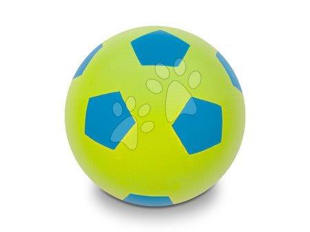 Labdák - Focilabda habszivacsból Soft Fluo Ball Mondo zöld 20 cm 24 hó-tól