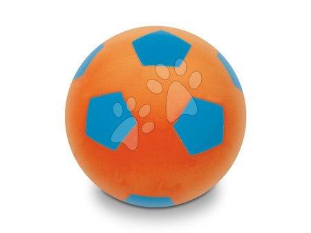 Otroške žoge - Žoga iz pene Soft Fluo Ball Mondo premer 20 cm oranžna od 24 mes