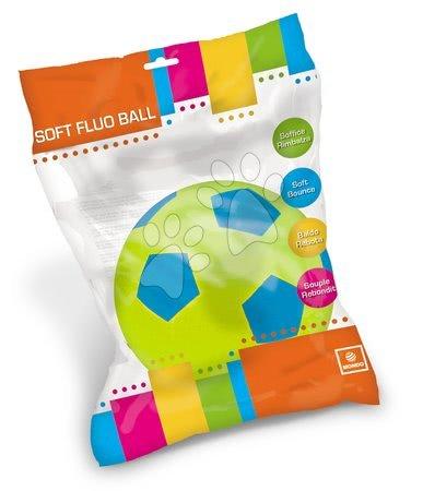 Labdák - Focilabda habszivacsból Soft Fluo Ball Mondo zöld 20 cm 24 hó-tól_1