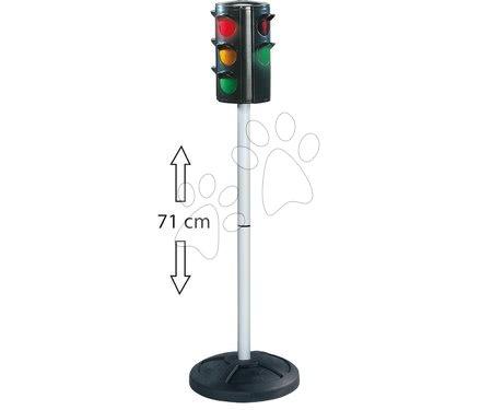 Príslušenstvo k odrážadlám - Semafor BIG automatický čierny