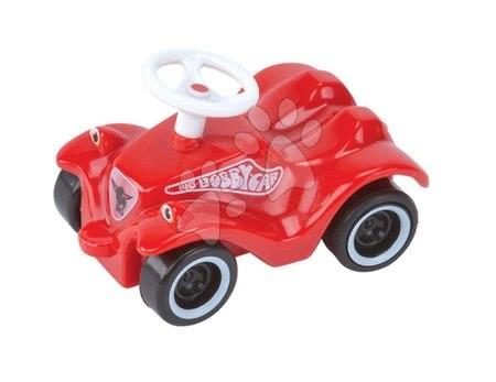 Autíčko Mini Bobby Classic BIG na naťahovanie dĺžka 8 cm červené od 12 mes
