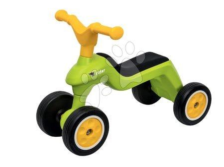 Guralice za djecu od 18 mjeseci - Guralica okretna Rider BIG zelena, s gumenim kotačima i navlakama za cipele od 18 mjeseci_1