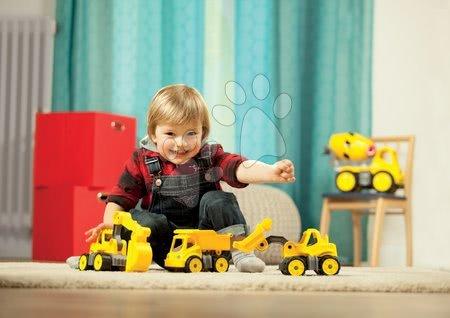 Kültéri játékok - Szett munkásgépek homokozóba BIG teherautó, markoló és homlokmarkoló 24 hó-tól_1