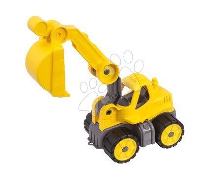 Stavební stroje - Bagr Power BIG pracovní stroj délka 24 cm žlutý od 24 měsíců_1