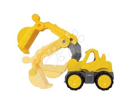 Stavební stroje - Bagr Power BIG pracovní stroj délka 24 cm žlutý od 24 měsíců