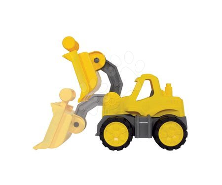 Stavební stroje - Nakladač Power BIG pracovní stroj délka 23 cm žlutý od 24 měsíců_1