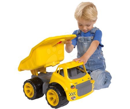 Autíčka a trenažéry - Nákladní auto Maxi Power BIG délka 46 cm žluté od 24 měsíců_1