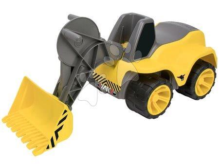 Încărcător frontal Maxi BIG Power Worker cu scaun 73 cm şi cu roţi din cauciuc