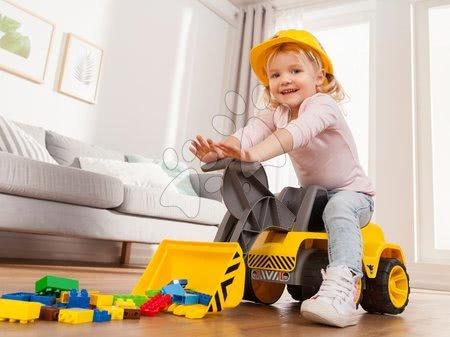 Guralice za djecu od 18 mjeseci - Utovarivač radni stroj Maxi BIG Power Worker sa sjedalom 73 cm i gumenim kotačima_1