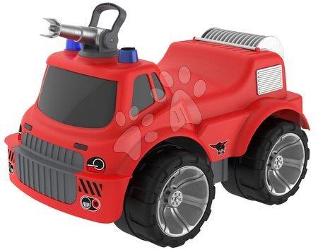 Guralice za djecu od 18 mjeseci - Vatrogasni auto sa sjedalom Maxi Firetruck Power Worker BIG s vodenim topom – gumeni kotači od 2 godine