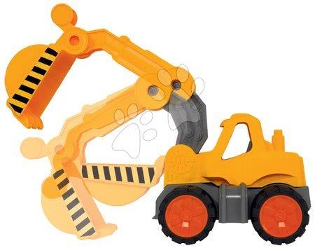 Autíčka a trenažéry - Bagr Digger Power Worker BIG pracovní stroj 67 cm – gumová kola od 2 let_1