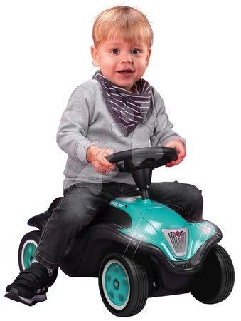 Otroški poganjalci - Poganjalec Bobby Car Next Turquoise BIG z LED reflektorji in elektronsko hupo ergonomski sedež z velurjem od 12 mes_1