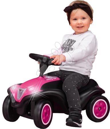 Otroški poganjalci - Poganjalec Bobby Car Next Raspberry BIG s LED reflektorji in elektronsko hupo ergonomski sedež z velurjem od 12 mes_1