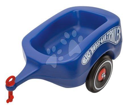 Príslušenstvo k odrážadlám - Prívesný vozík BIG modrý k odrážadlám New&Classic&Neo&Next&Scooter od 12 mes
