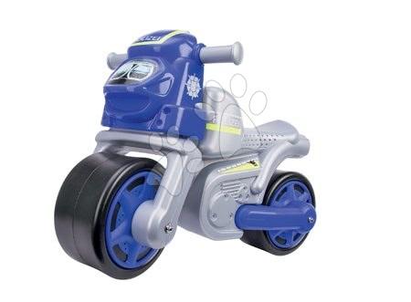 Guralice za djecu od 18 mjeseci - Guralica motocikl Policija Bike BIG srebrna od 18 mjeseci