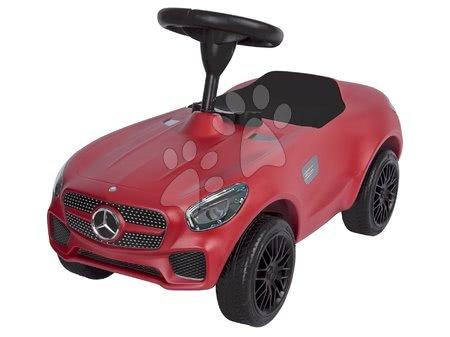 Odrážadlo auto Mercedes AMG GT Bobby BIG s klaksónom červené od 18 mes