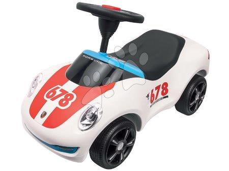 Odrážedlo auto Porsche Premium BIG s klaksonem bílé od 18 měsíců