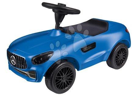 Otroški poganjalci - Poganjalec avto Mercedes AMG GT Bobby BIG s hupo moder od 18 mes