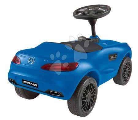 Otroški poganjalci - Poganjalec avto Mercedes AMG GT Bobby BIG s hupo moder od 18 mes_1