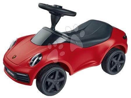Otroški poganjalci - Poganjalec avto Baby Porsche 911 BIG z zvokom in pristnimi detajli z delavnice Porsche rdeč od 18 mes