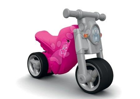 Odrážadlo motorka Girl Bike BIG ružovo-šedé od 18 mes