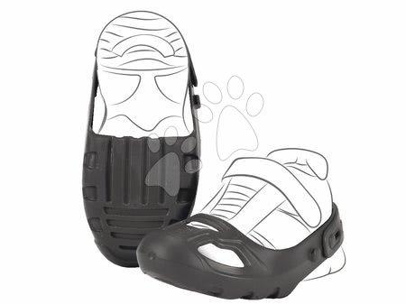 Príslušenstvo k odrážadlám - Ochranné návleky na topánky Shoe-Care BIG čierne k odrážadlám veľkosť topánky 21-27 od 12 mes