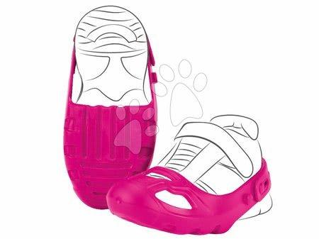 Príslušenstvo k odrážadlám - Ochranné návleky na topánky Shoe-Care BIG ružové k odrážadlám veľkosť topánky 21-27 od 12 mes