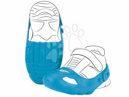 Príslušenstvo k odrážadlám - Ochranné návleky na topánky Shoe-Care BIG modré k odrážadlám veľkosť topánky 21-27 od 12 mes