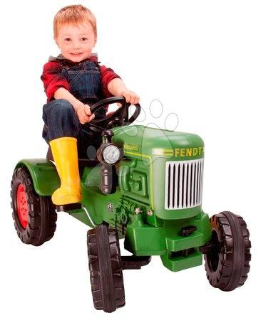 BIG - Pedálos traktor Fendt Dieselross BIG zöld_1