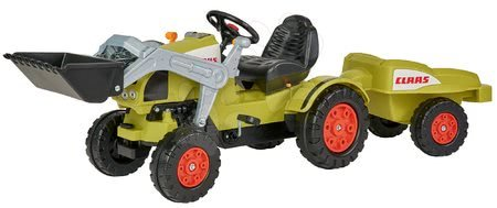 BIG - Pedálos traktor Claas Celtis BIG pótkocsival